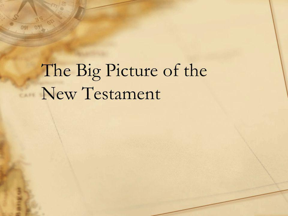 The Big Picture of the New Testament