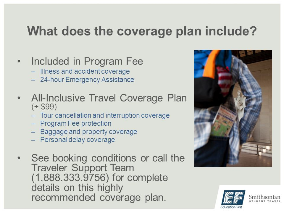 What does the coverage plan include.