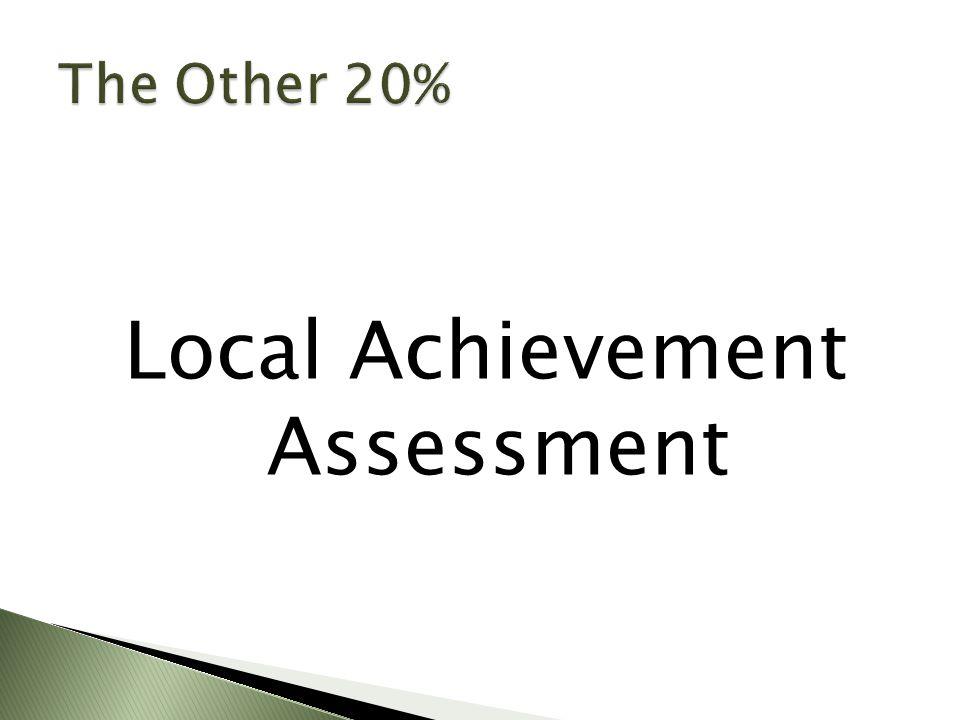 Local Achievement Assessment