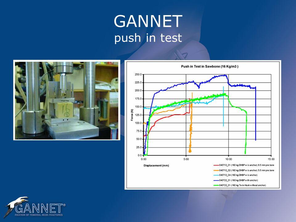 GANNET push in test