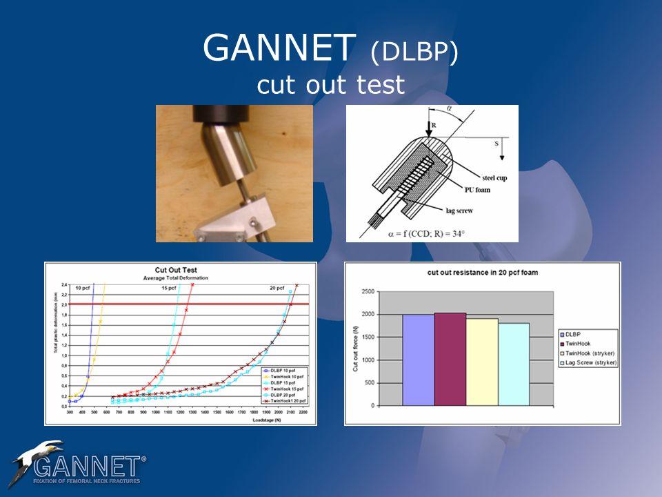 GANNET (DLBP) cut out test