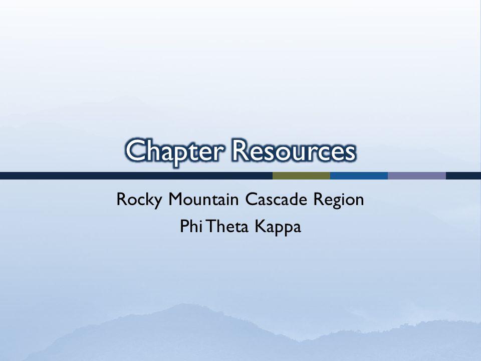 Rocky Mountain Cascade Region Phi Theta Kappa