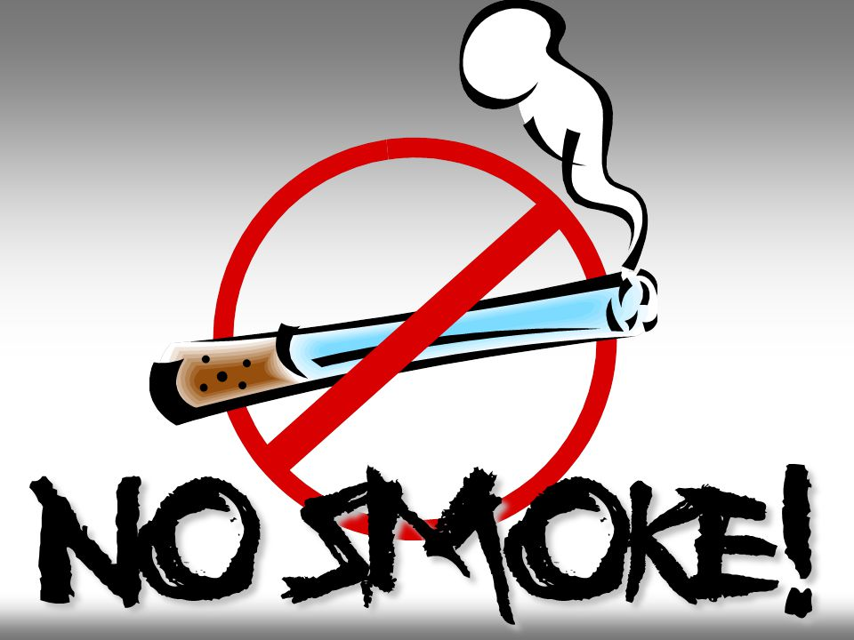 No smoke!
