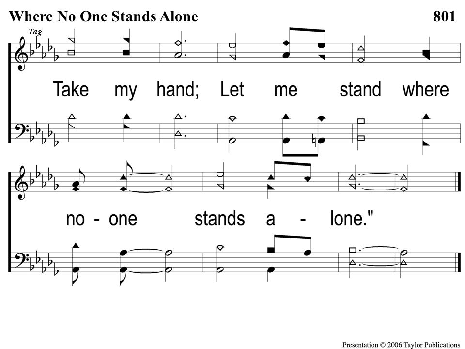 Opt tag Where No One Stands Alone Tag Where No One Stands Alone801