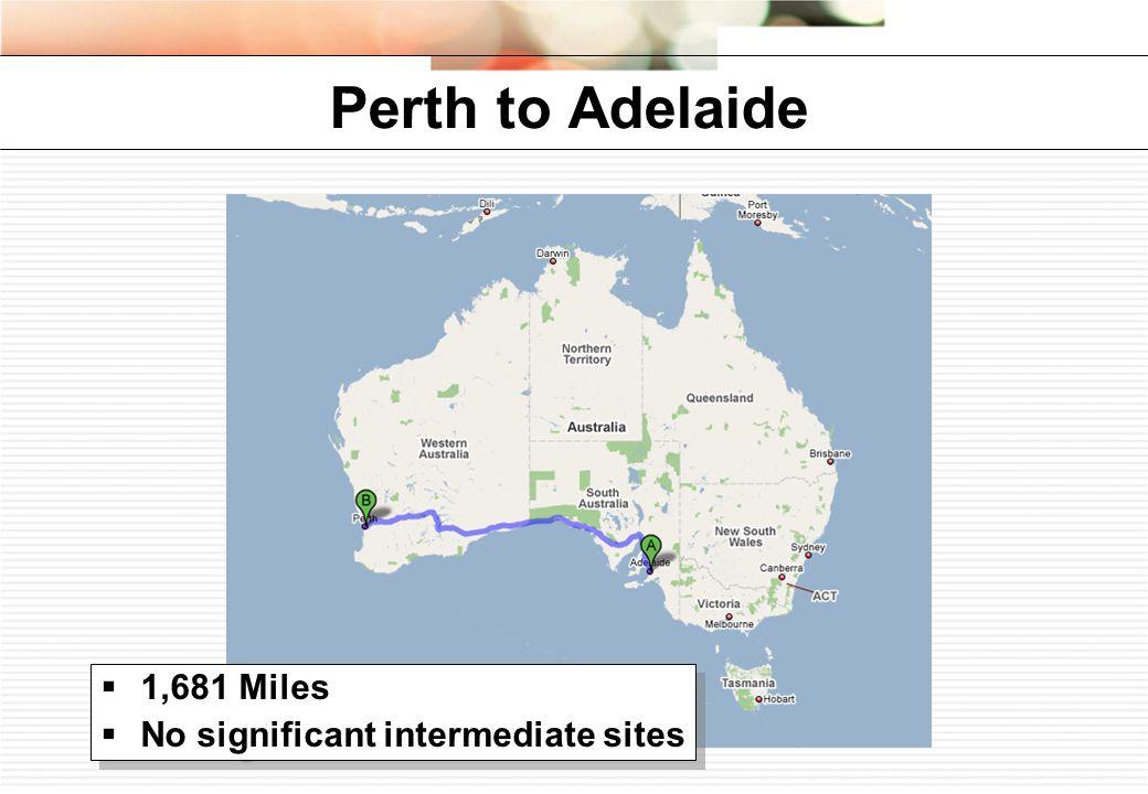 Adelaide to Darwin  1,881 Miles  Alice Springs: 26,000  Darwin: 82,000  1,881 Miles  Alice Springs: 26,000  Darwin: 82,000