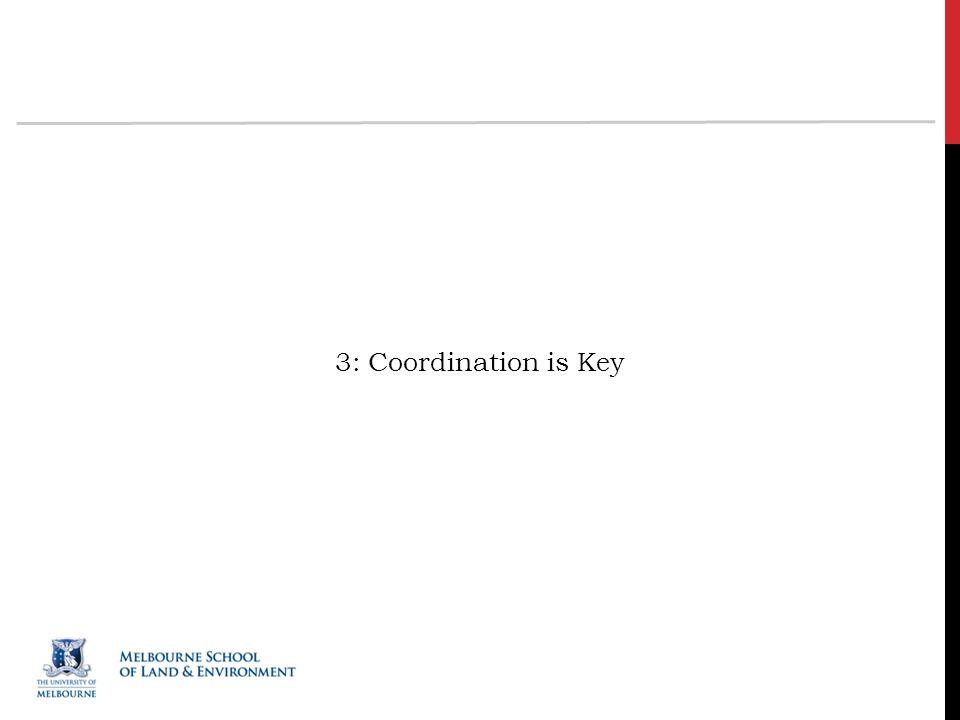 3: Coordination is Key