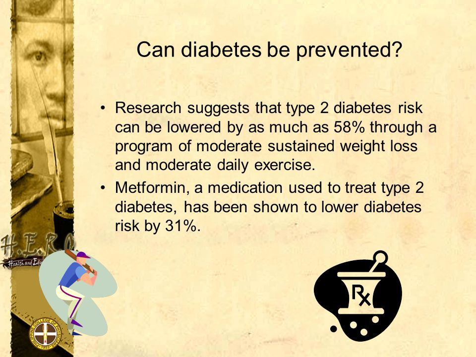 Can diabetes be prevented.