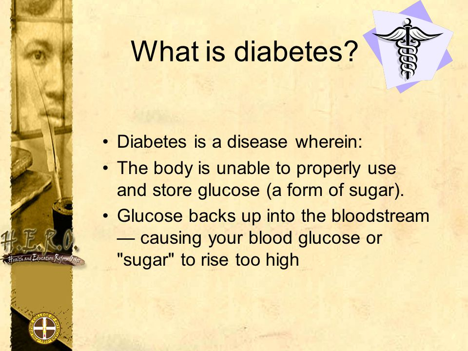 People with diabetes may experience the following symptoms: Being very thirsty Having to go to the bathroom very frequently to urinate Unexplained weight loss Increased hunger