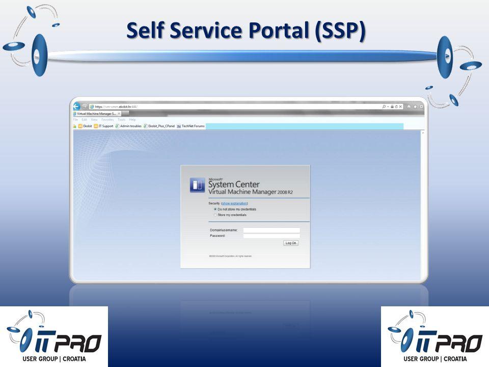 Self Service Portal (SSP)