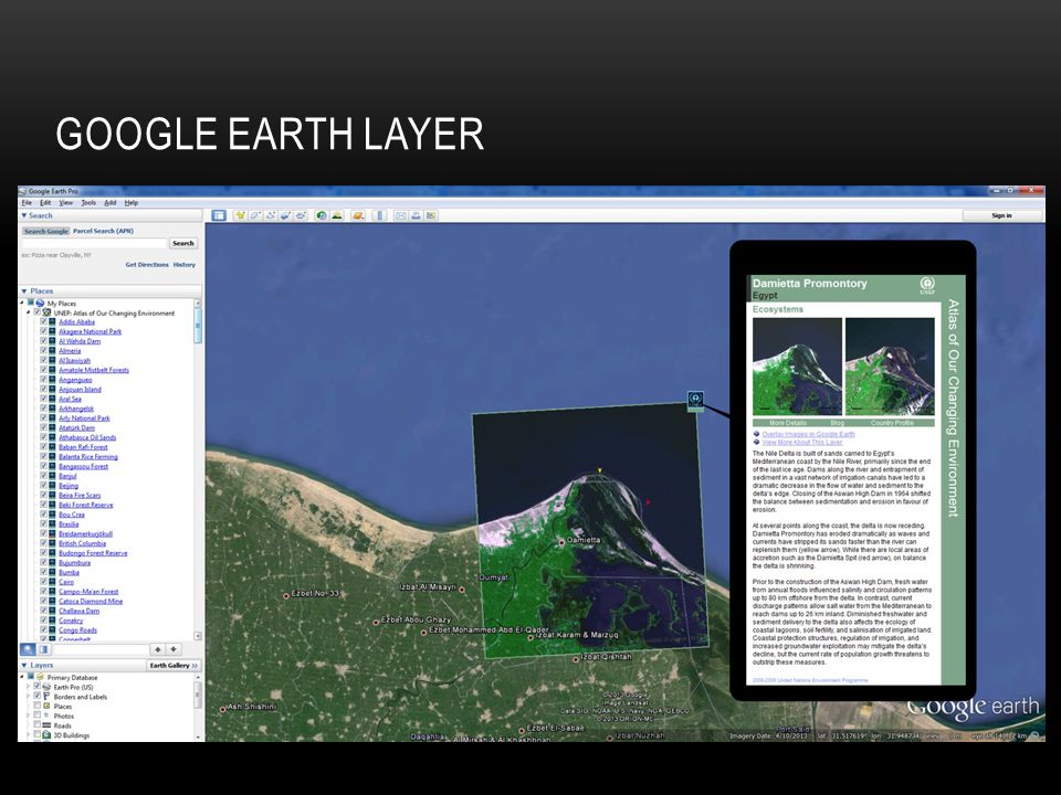 GOOGLE EARTH LAYER