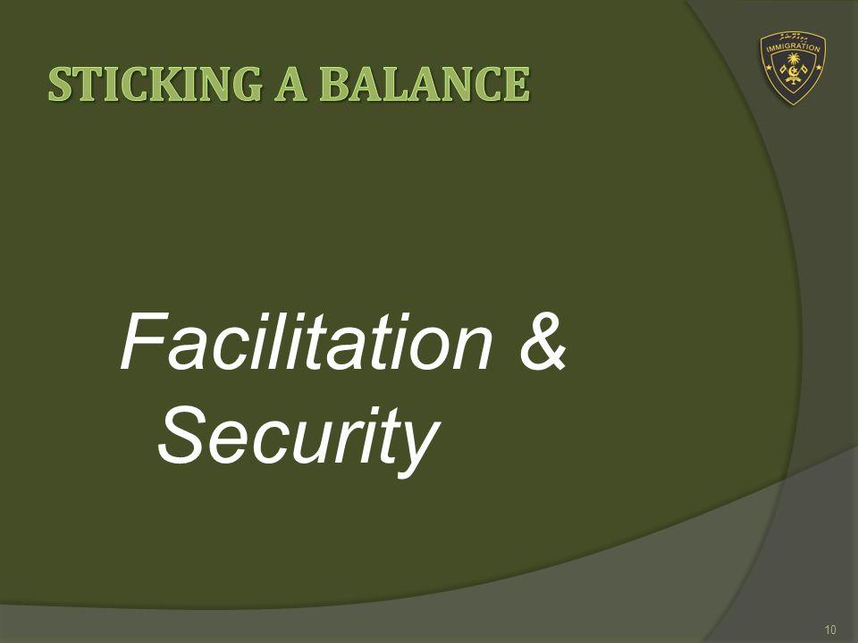 Facilitation & Security 10