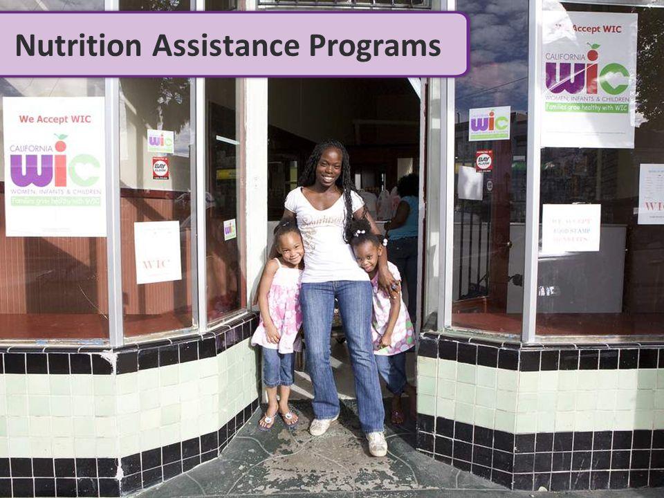 Nutrition Assistance Programs