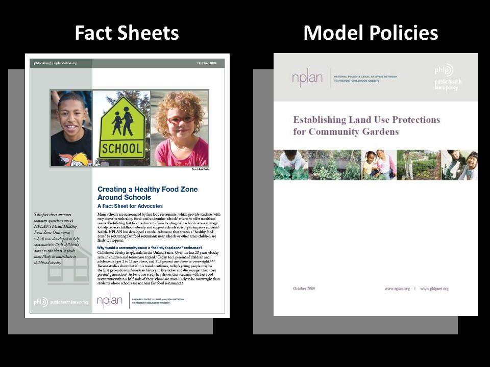 Fact SheetsModel Policies