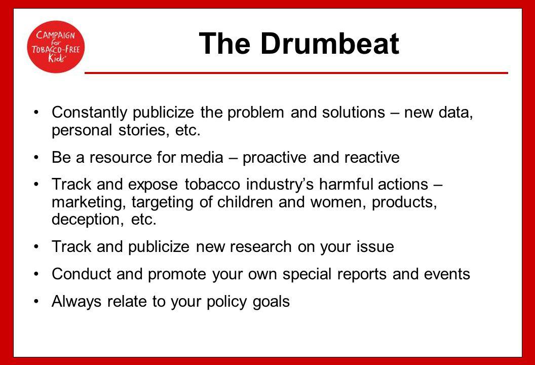 76 Online toolkit for advocates Media Materials Advocacy Materials Grassroots Materials Research Materials http://tobaccofreekids.org/winwinwin/toolkit/