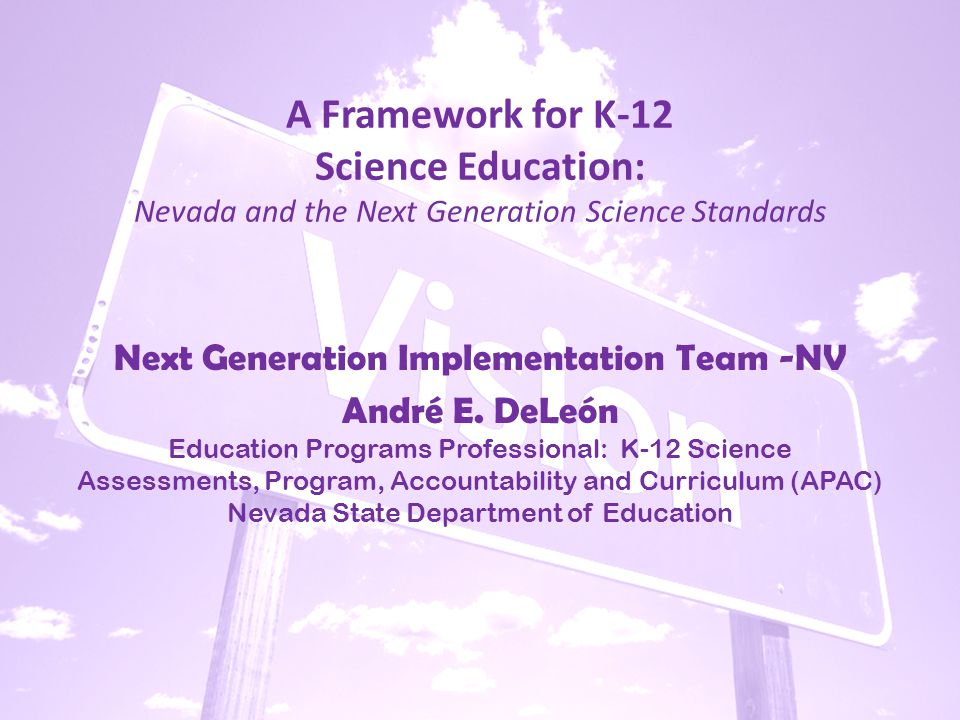 The Partnership: Nevada Next Generation Science Network – 17 As One for NV Science –Tasks… Understand the nature of the work being done by N.G.I.T.