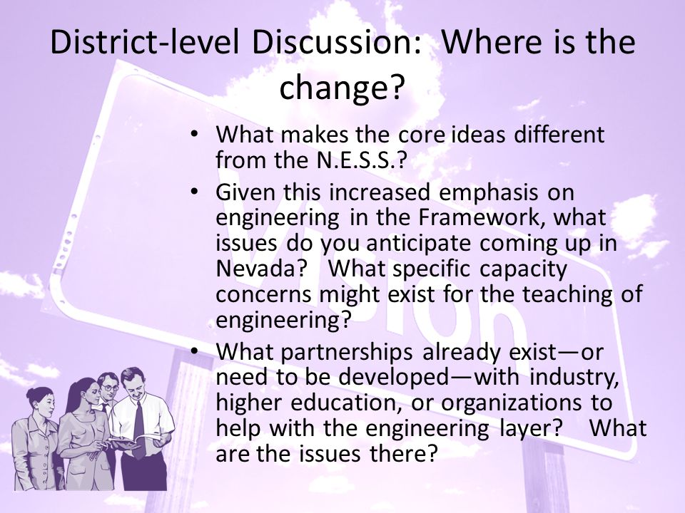 District-level Discussion: Where is the change.