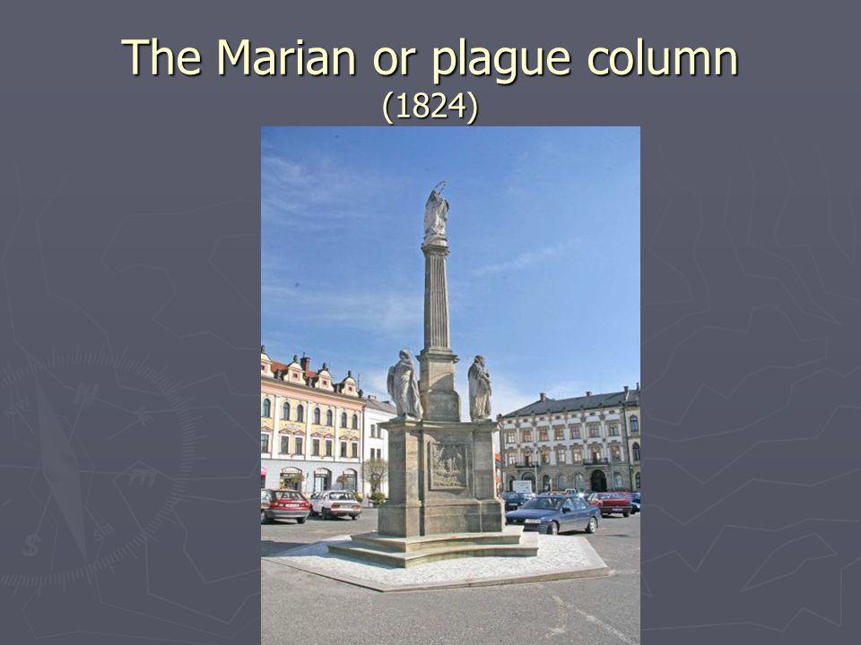 The Marian or plague column (1824) 1824