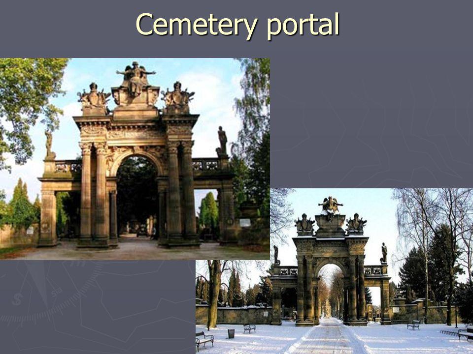 Cemetery portal