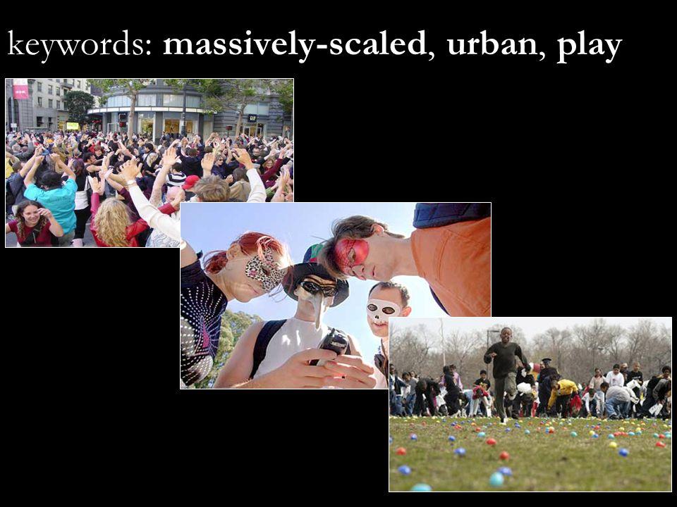 Five Urban Search Terms M C GONIGAL 07.16.04 www.avantgame.com janemcg@berkeley.edu 1.