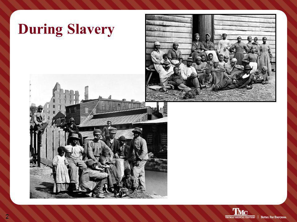 2 During Slavery