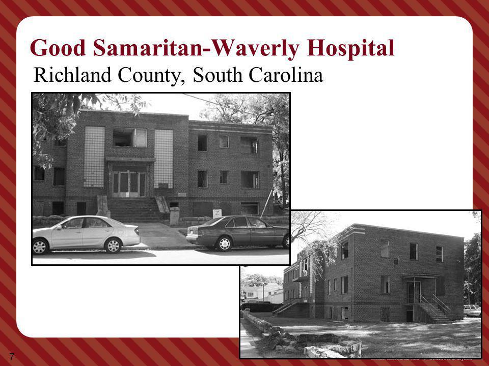 7 Good Samaritan-Waverly Hospital Richland County, South Carolina
