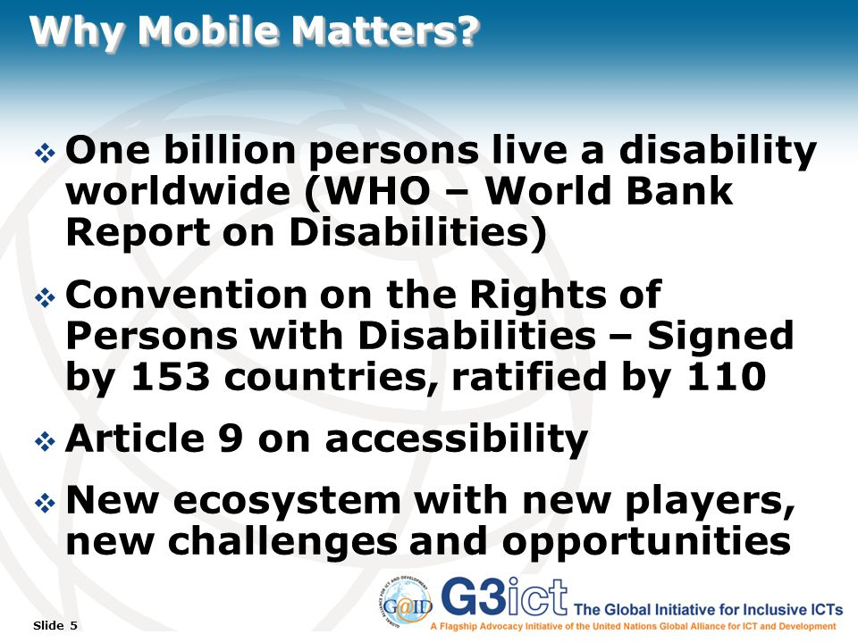 Slide 5 Why Mobile Matters.