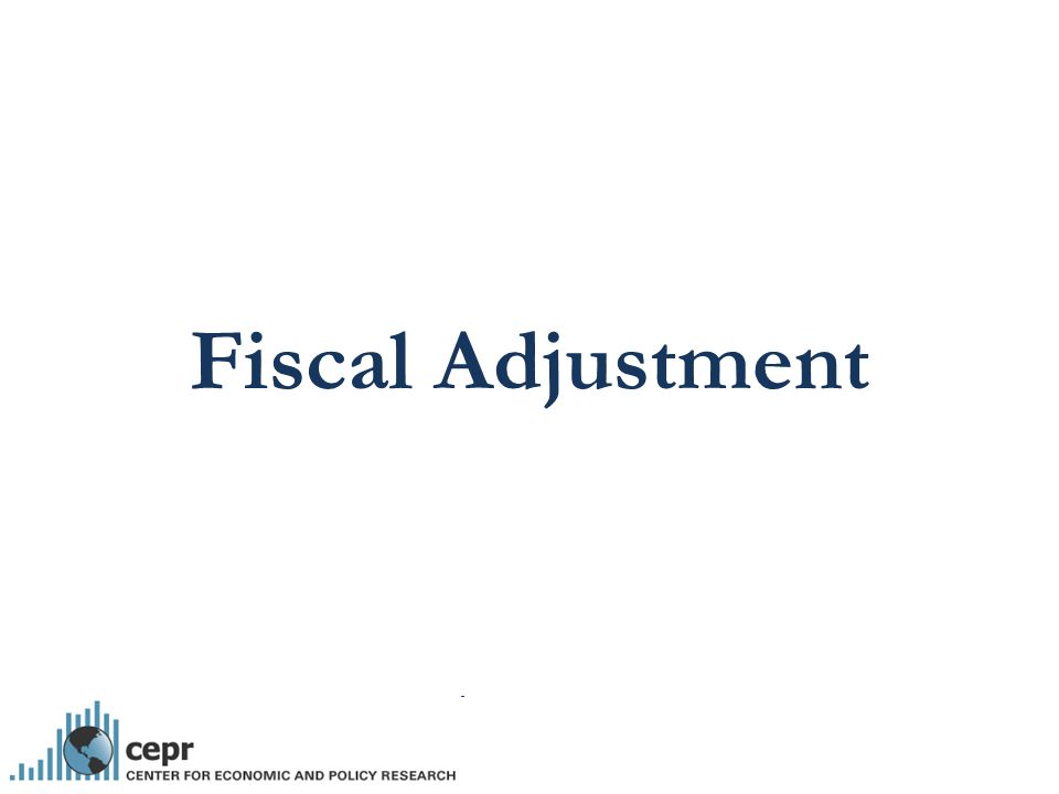 Fiscal Adjustment