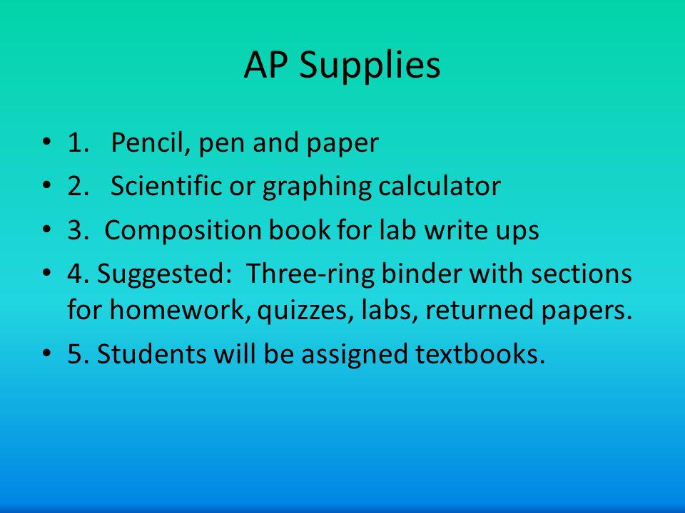 Grading Formative (25%) – class work – labs – homework Very seldom will homework be graded.
