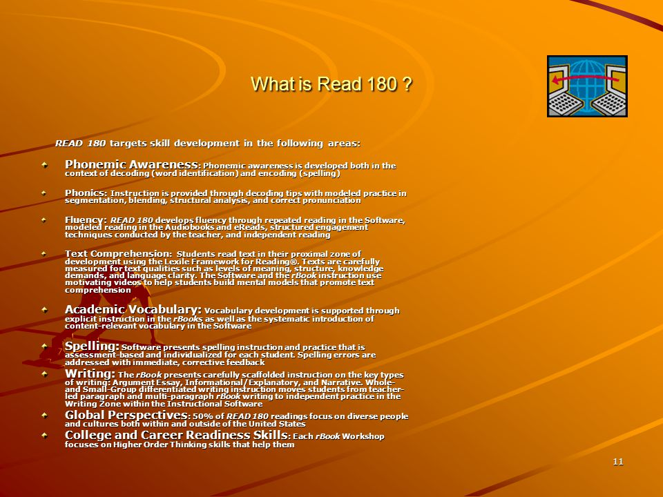 11 What is Read 180 .
