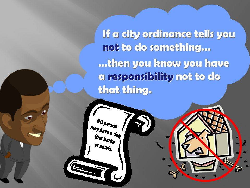 City charters often contain rules, kind of like a school handbook.