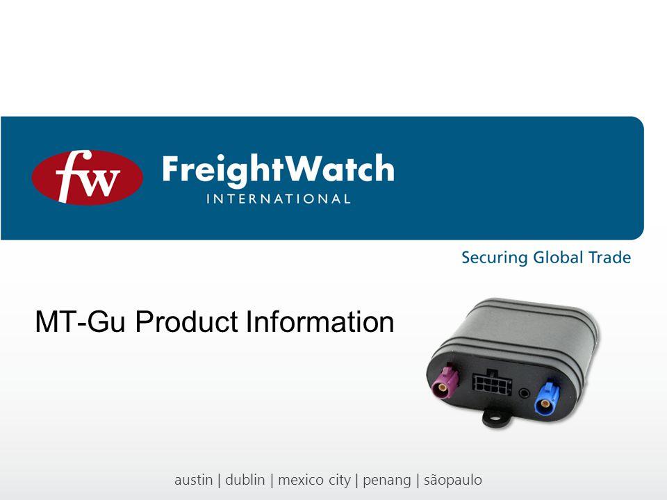 austin | dublin | mexico city | penang | sãopaulo MT-Gu Product Information