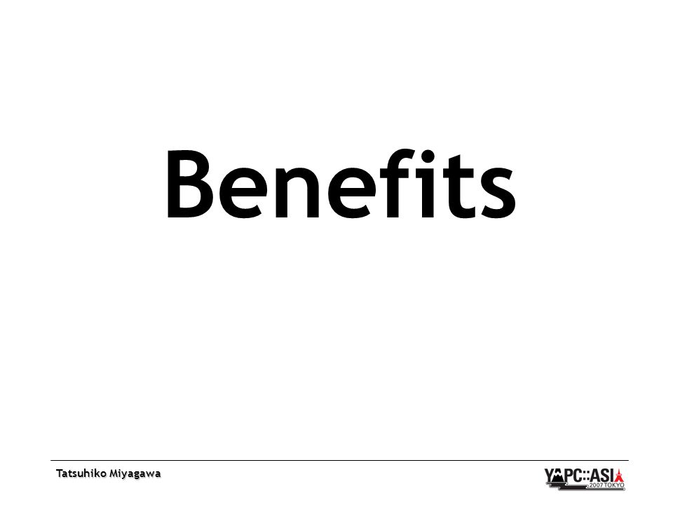 Tatsuhiko Miyagawa Benefits