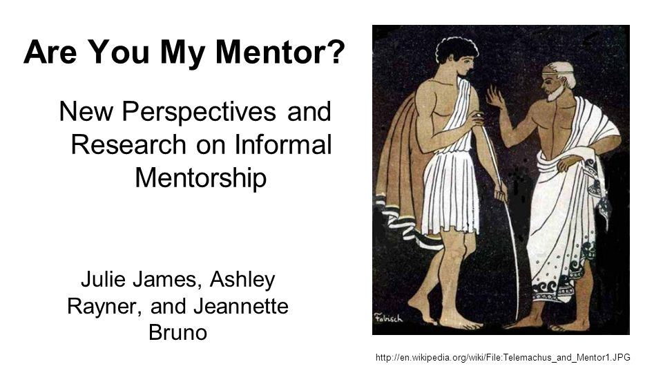 Are You My Mentor.