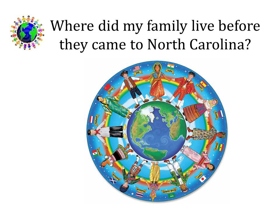 Where did my family live before they came to North Carolina