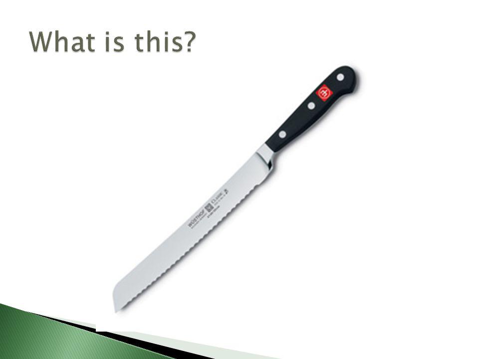 A: Tip B: Cutting Edge C: Spine D: Blade E: Heel F: Bolster G: Handle H:Tang I:Butt