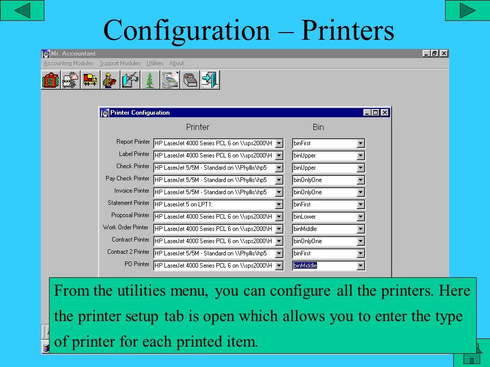 Configuration - Landscape From the Landscape shortcut, you can configure the Landscape module.
