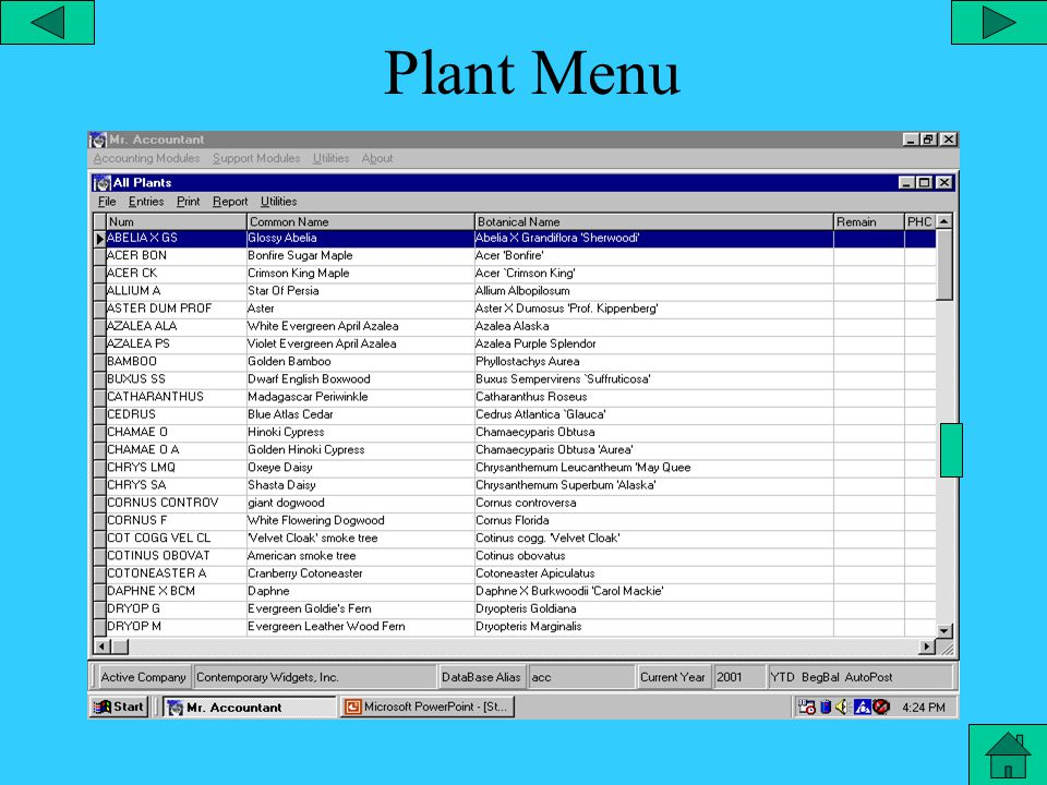 Configuration – Security From the utilities menu, you can configure the security which allows you to add a user with a custom password, employee #, employee name, and the modules the employee has access to.