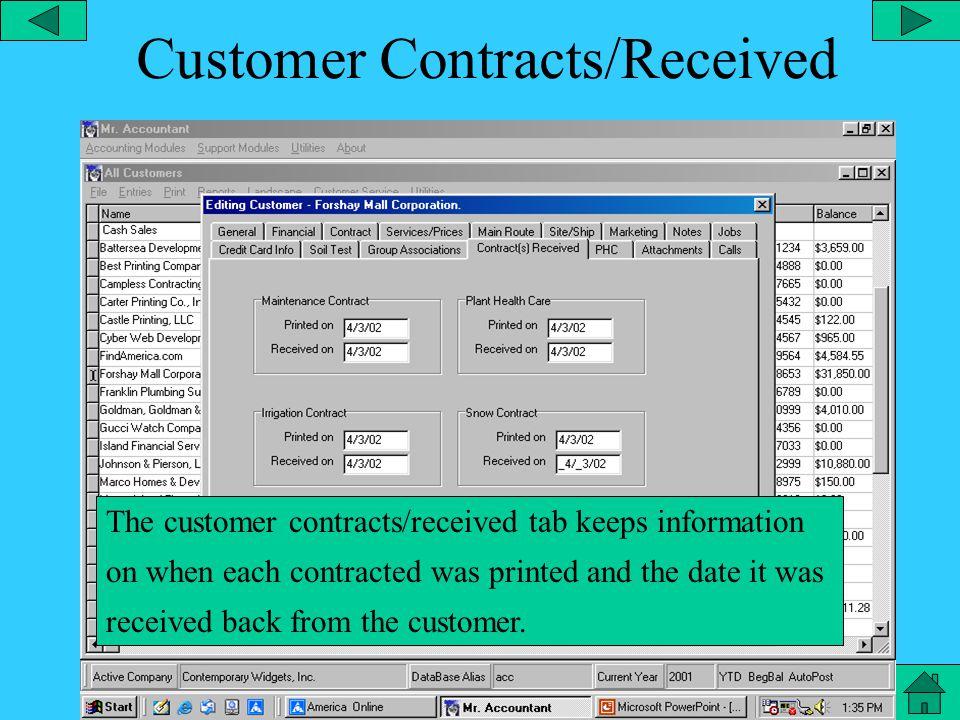 Customer Group Assoc.