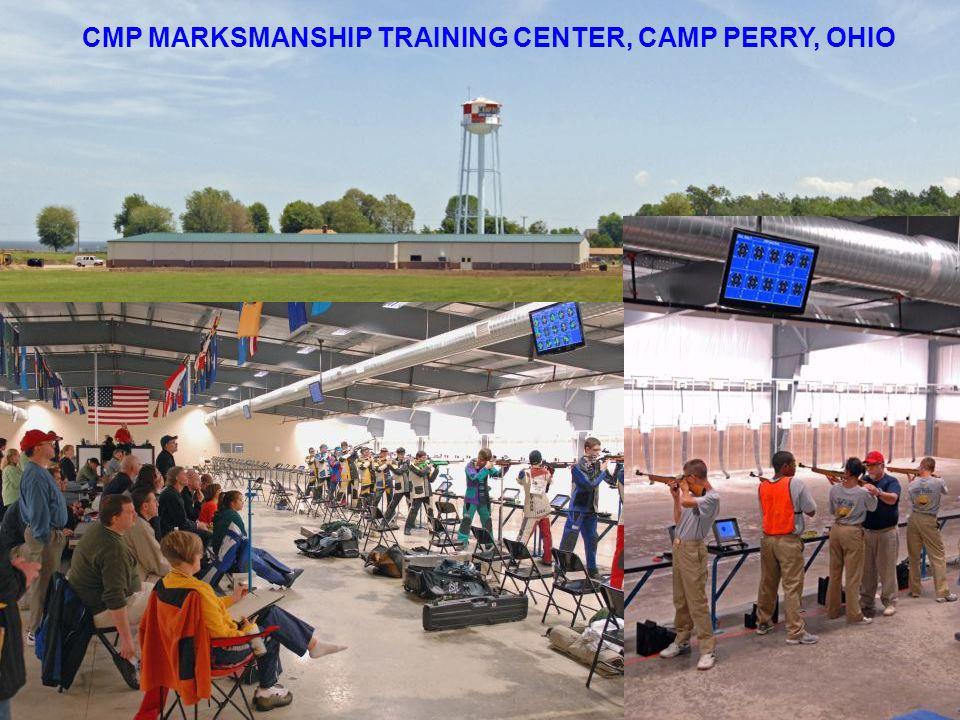CMP MARKSMANSHIP TRAINING CENTER, CAMP PERRY, OHIO