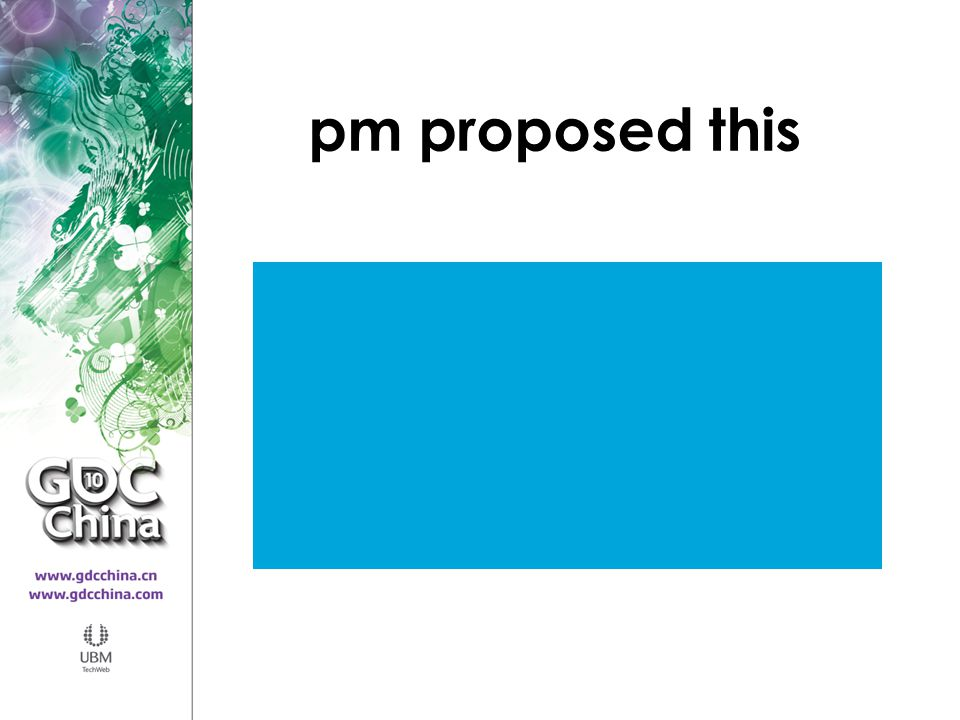 pm proposed this