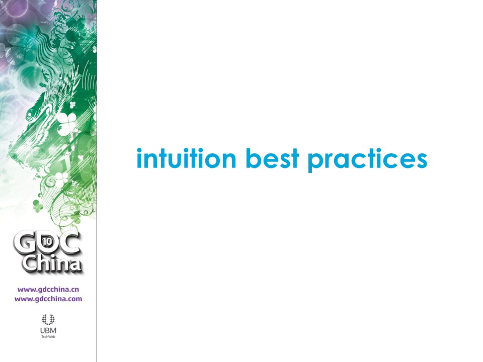intuition best practices