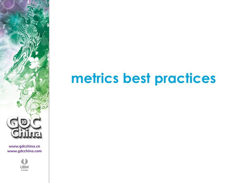 metrics best practices