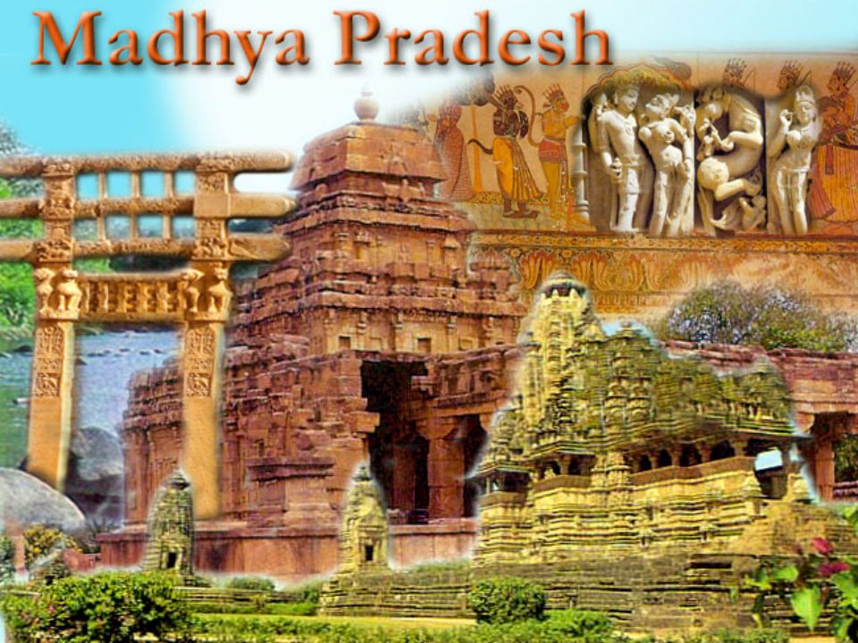 Madhya Pradesh State Information Capital : Bhopal Districts : 48 Language : Hindi Introduction to Madhya Pradesh Madhya Pradesh is a cluster of innumerable districts having varied topographic and climatic characteristics.