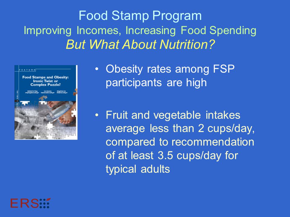 Food Stamp Program Improving Incomes, Increasing Food Spending But What About Nutrition.