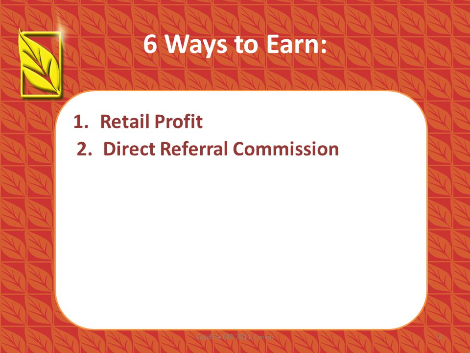 6 Ways to Earn: YOU New Registrant P400 + 1 Box Cal-Cee 2.