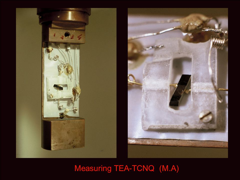 Measuring TEA-TCNQ (M.A)