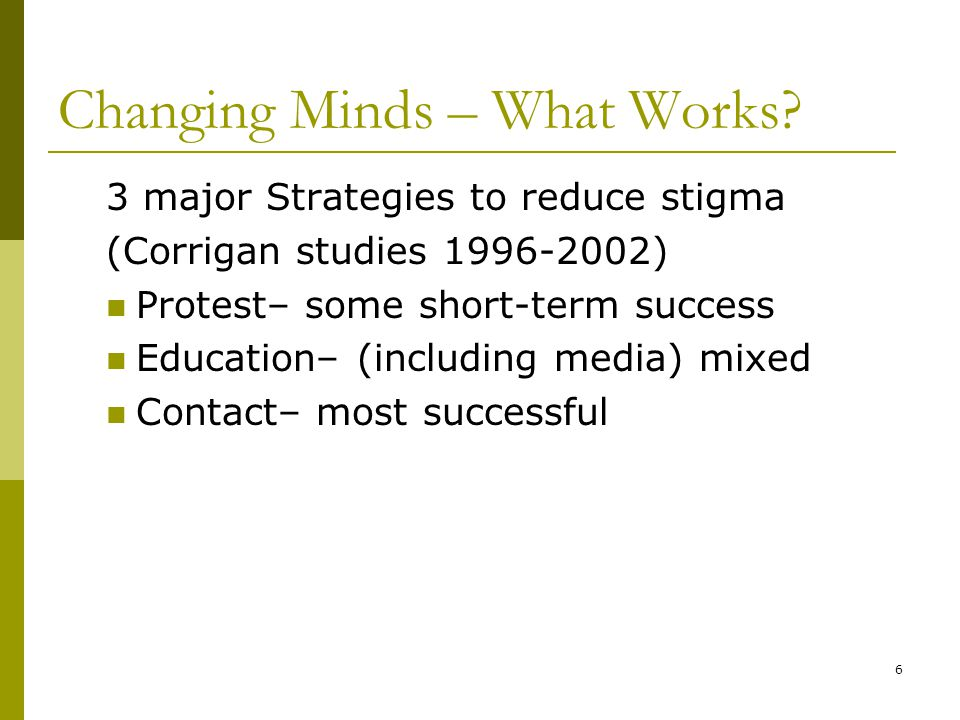 6 Changing Minds – What Works.