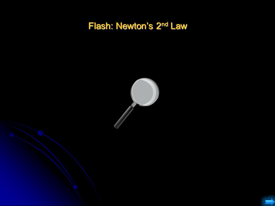 Flash: Newton's 2 nd Law