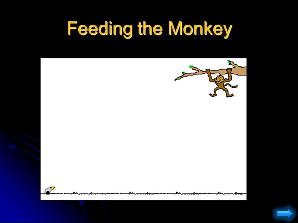 Recap: Shooting the monkey...