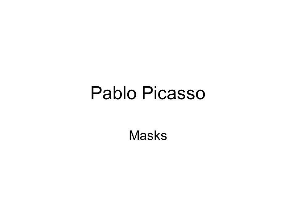 Pablo Picasso Masks
